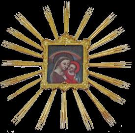 """Das Gnadenbild """"Maria vom guten Rat"""" kam 1762 vom Kloster Stams in die Kirche nach Hinterhornbach."""