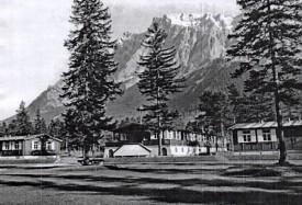"Das RAD-Lager ""SA-Mann Sylvester Fink"" in Ehrwald."