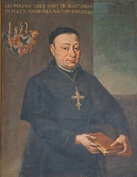 Leopold Freiherr von Rost, Abt des Klosters St. Magnus in Füssen.