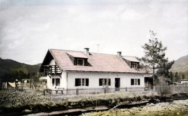 Ältestes Wohnhaus in der Tränke 1941